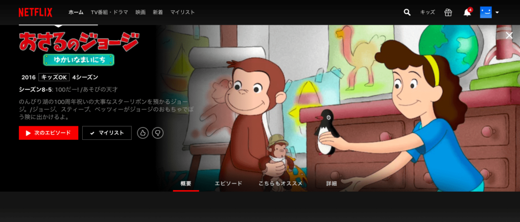 海外アニメ:おさるのジョージ