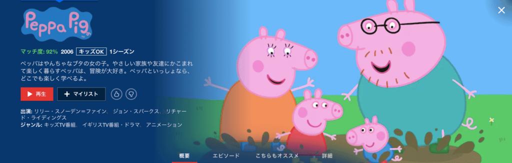 英語学習向けアニメ① ペッパピグ