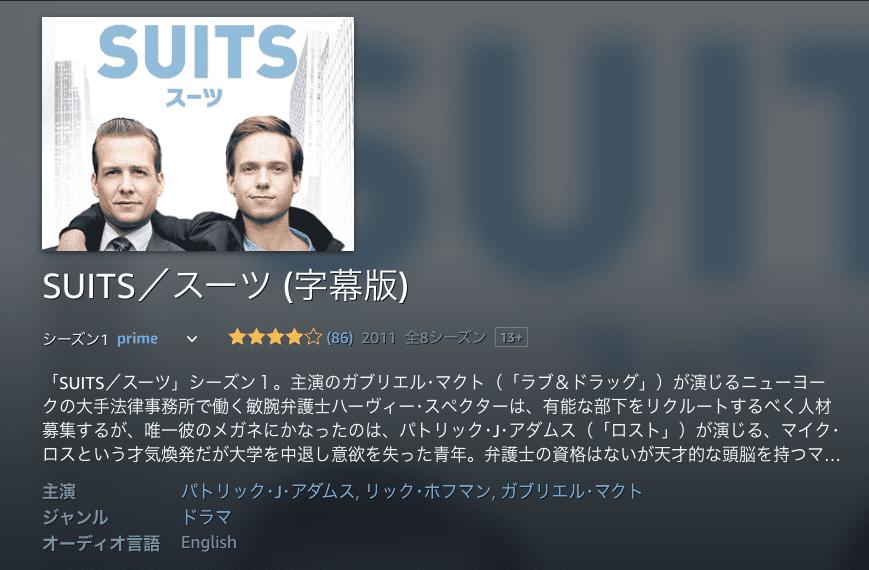 作品② SUITS