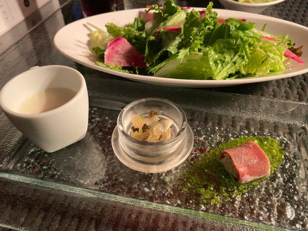 レストランの前菜