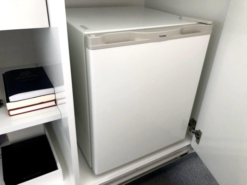 東京マリオットホテルの冷蔵庫