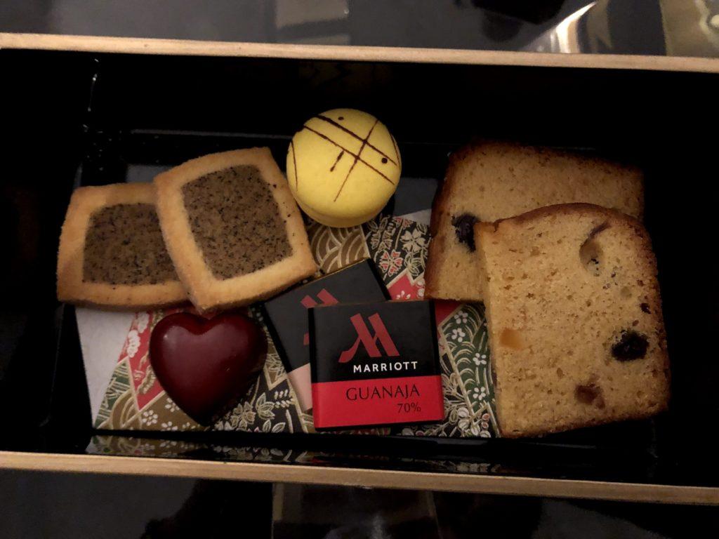 東京マリオットホテルのチョコレートお菓子