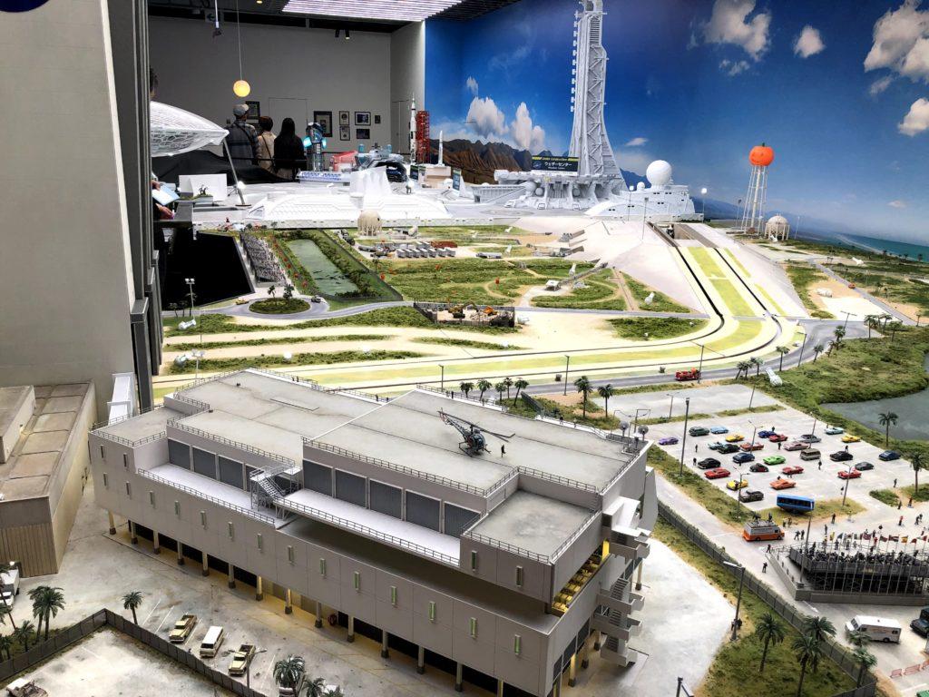 スモールワールズの宇宙センターエリア