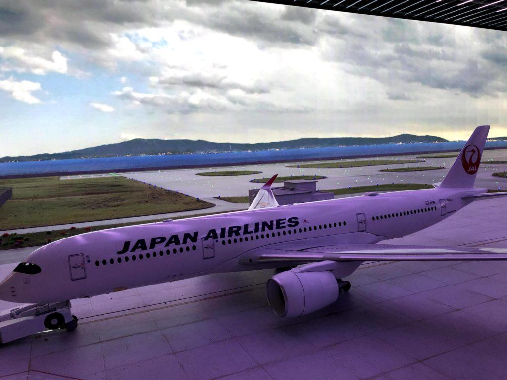 JALなどの飛行機がある