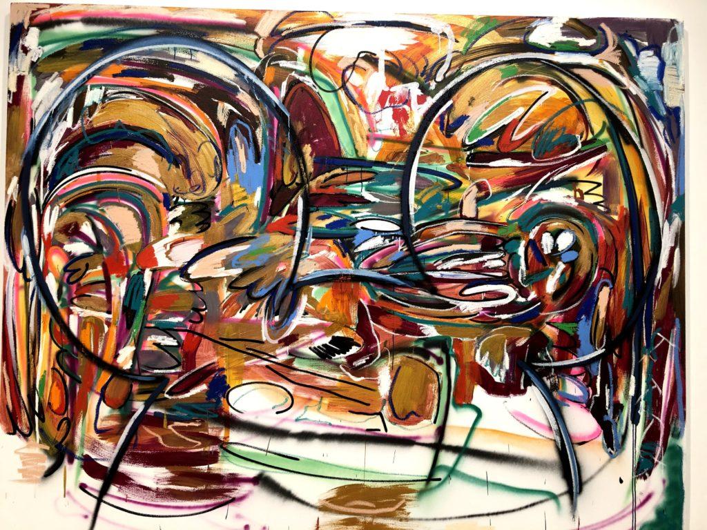 ミッキーマウス展のアート