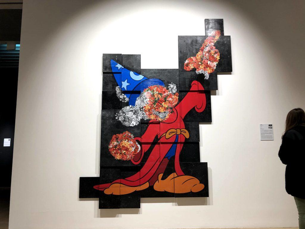 日本のアーティストによるミッキーの現代アート