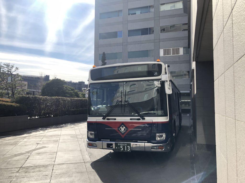 浦安ブライトンホテルにはディズニーのシャトルバスもある