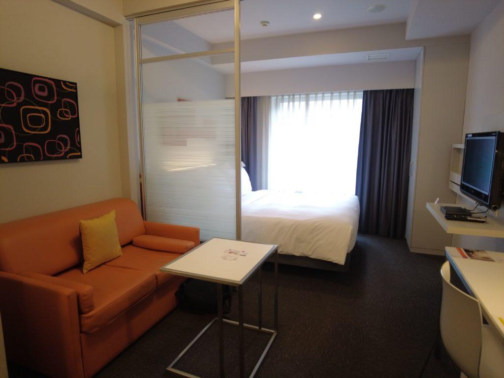シタディーン新宿の客室