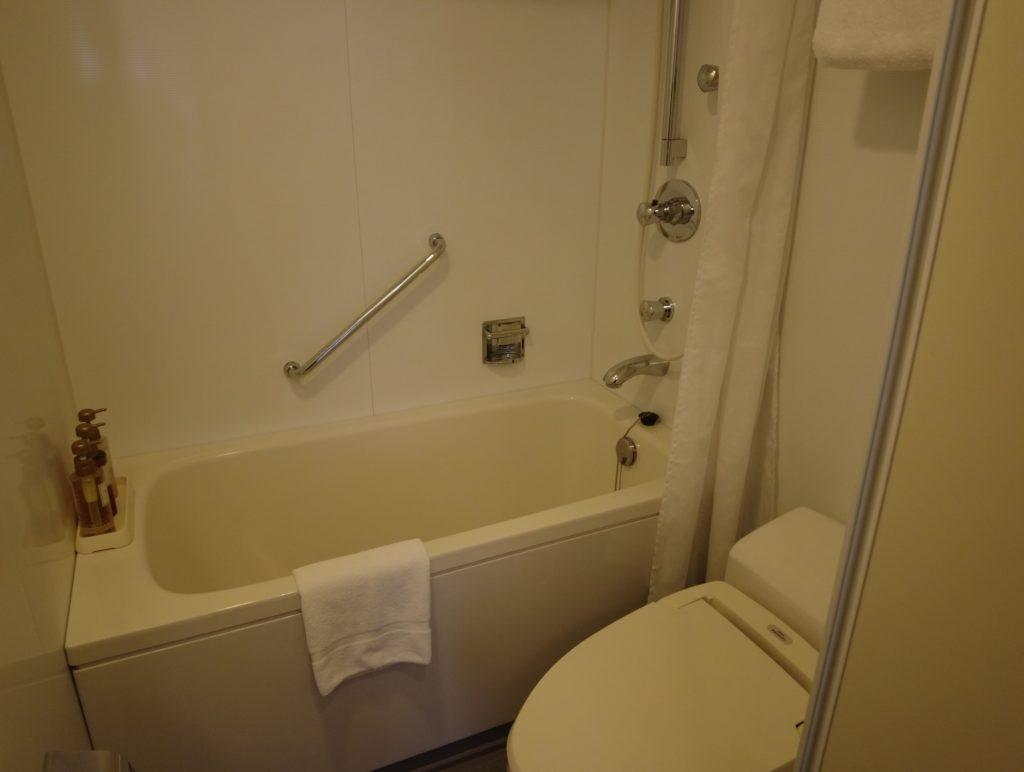 シタディーン新宿のお風呂はユニットバス