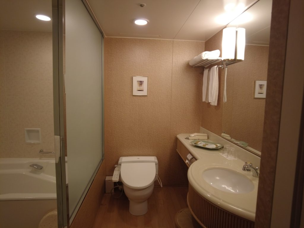脱衣所とトイレは一緒だが広い