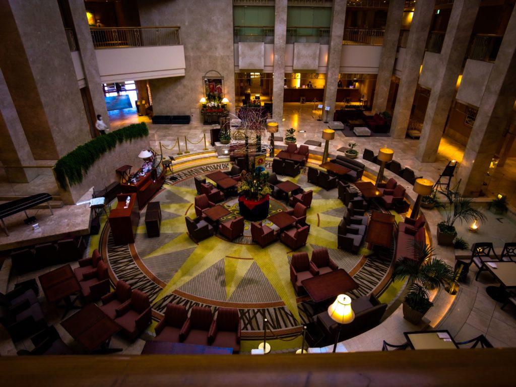 浦安ブライトンホテルのロビー