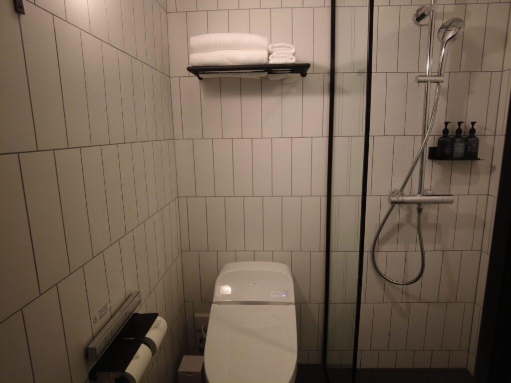 トイレとシャワールームが一緒